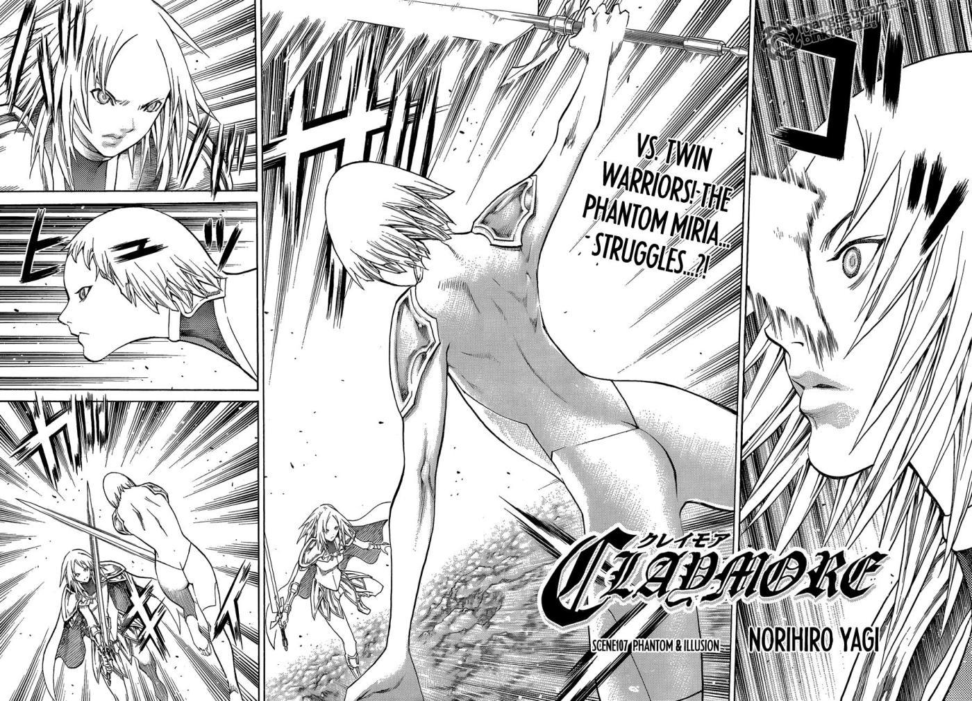 Claymore Chapter 107