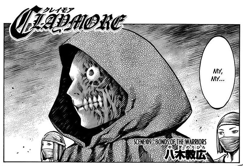 claymore chapter 109