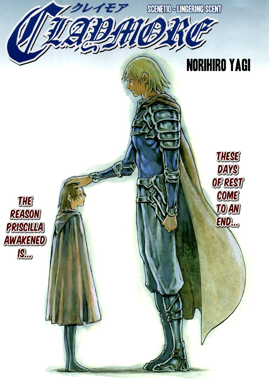 Claymore Chapter 110 : Lingering Scent