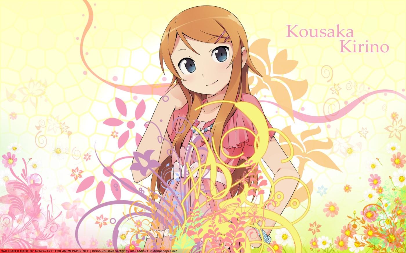 Kirino Kousaka. Image taken from Konachan.com