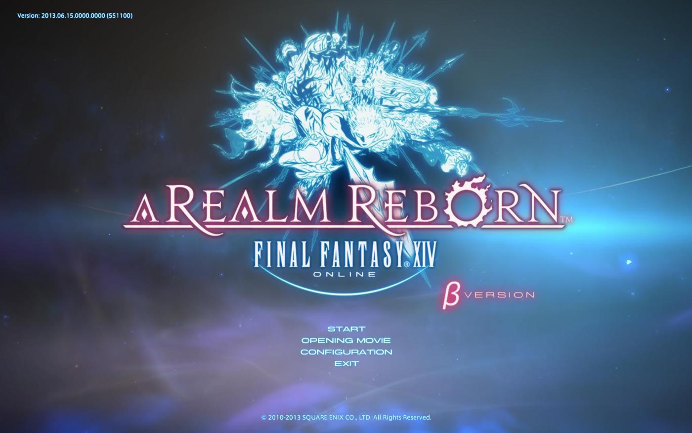 Final Fantasy XIV: A Realm Reborn Beta Phase 3 (June 14-16