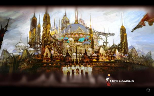 Final Fantasy XIV: A Realm Reborn - Loading Screen