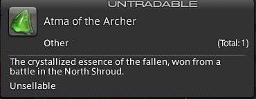 Final Fantasy XIV A Realm Reborn - Atma of the Archer