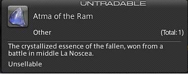 Final Fantasy XIV A Realm Reborn - Atma of the Ram