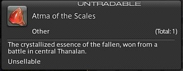 Final Fantasy XIV A Realm Reborn - Atma of the Scales