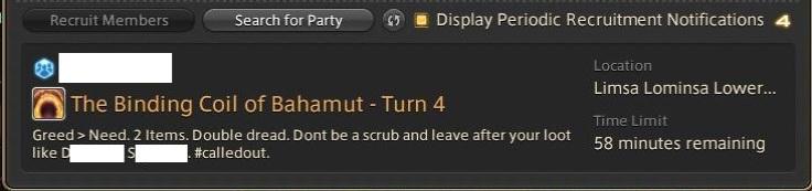 Final Fantasy XIV A Realm Reborn - Don't Be a Scrub